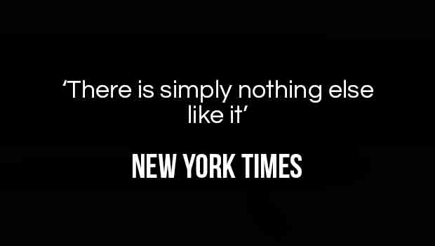 There is simply nothing else like it' - The quote from the New York Times about Lyceum Theatre's Lion King